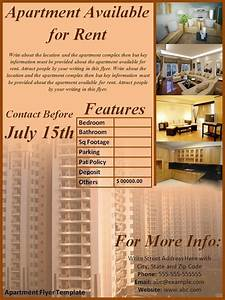 apartment flyer template best word templates With apartment flyers free templates