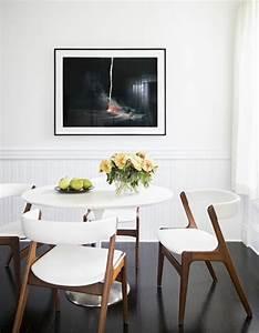 la plus originale table de cuisine ronde en 56 photos With salle À manger contemporaine avec table style scandinave pas cher