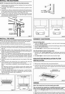 Broan Range Hoods Wiring Diagram