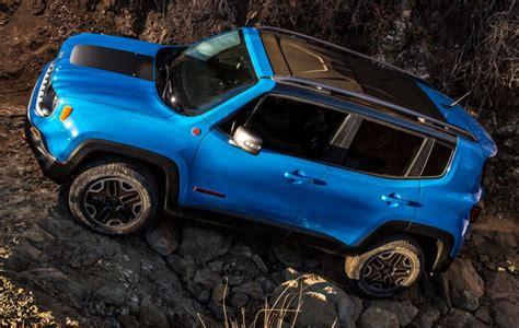 jeep renegade trailhawk blue 2015 jeep renegade trailhawk test drive jeeps