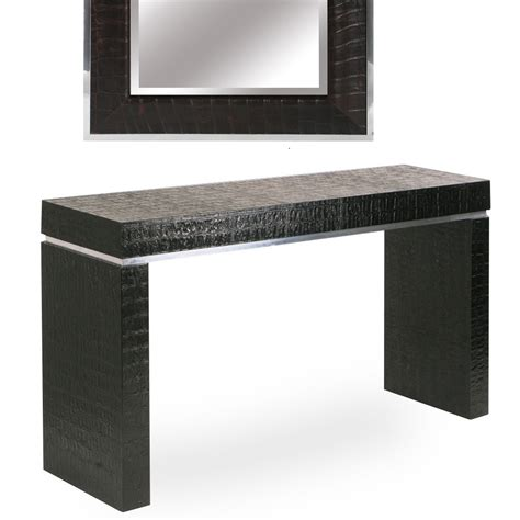 leather console table custom console tables custom console tables custom console