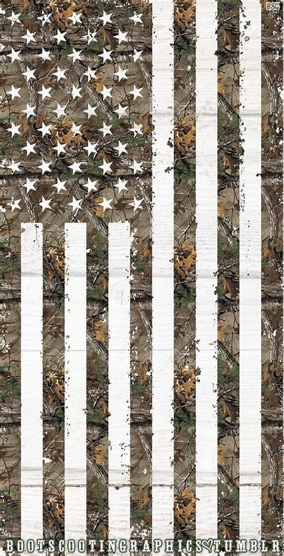 Camo Realtree Flag American Wallpapers Camouflage Hunting