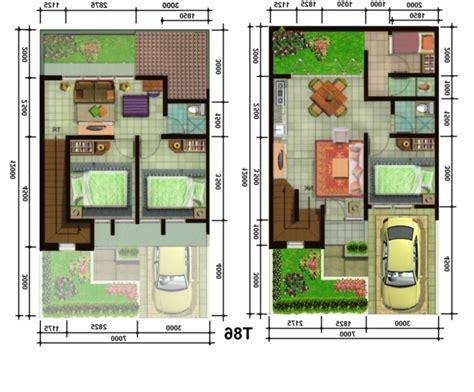 gambar foto denah rumah minimalis sederhana renovasi