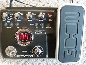 Zoom Guitar Effects Pedal G2 1u  Power Supply  Manual
