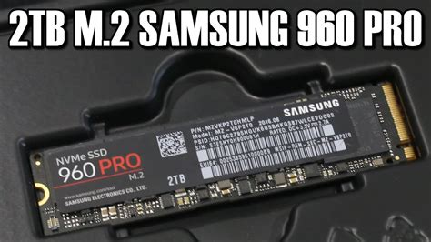 Pro M2 2015 by Samsung 2tb 960 Pro M 2 Ssd Review