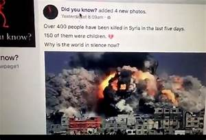 Syrian 'Opposition Activists' Using Old Gaza Images to ...