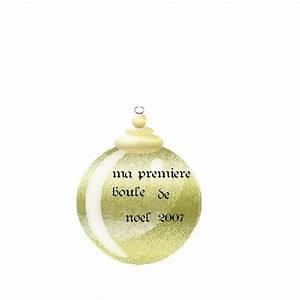 Ma Premiere Boule De Noel : boule de noel ~ Teatrodelosmanantiales.com Idées de Décoration