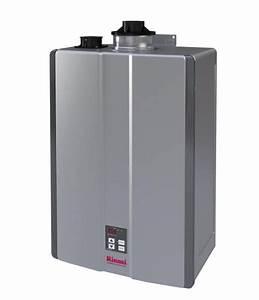 Ru160in Indoor Condensing Tankless Water Heater 160k Btu