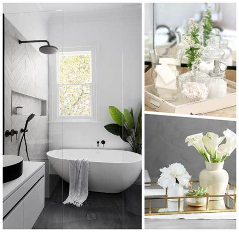Kleine Badezimmer Pflanzen by 1001 Ideen F 252 R Eine Stilvolle Und Moderne Badezimmer Deko