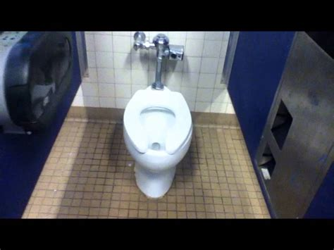 Defective School Toilet Won't Stop Flushing No Matter What