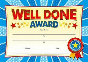 certificates well done award learn english grammar With well done certificate template