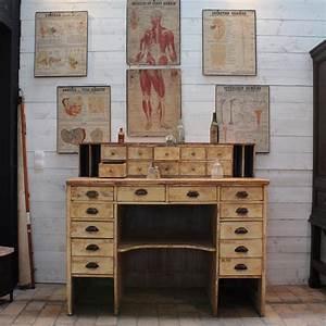 Meuble D Apothicaire : ancien bureau d 39 apothicaire ~ Teatrodelosmanantiales.com Idées de Décoration