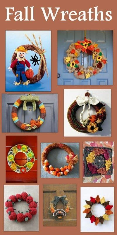 fall wreaths  warm  door tuesdays treasury