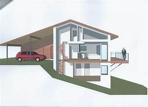 implantation d une maison sur terrain en pente ventana blog With implantation maison sur terrain en pente