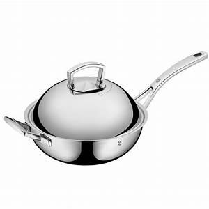 Wmf Chef S Edition : wmf wok chef s edition m deckel stielgriff mehrschichtmaterial induktion ~ Whattoseeinmadrid.com Haus und Dekorationen