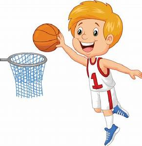 Little Boy Playing Basketball | Clipart | The Arts | Image ...
