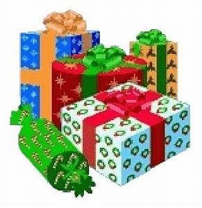 Christmas Wrapped Gifts Clipart - Clip Art Library