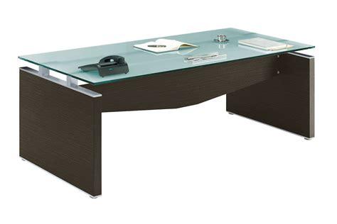 bureau bois et verre bureau verre et bois neuf adopte un bureau