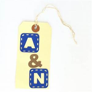 initial wedding favor tags monogram wedding favors bride With monogram tags for wedding favors