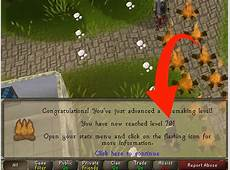 How to Get Your Woodcutting and Firemaking up Fast on