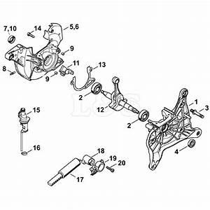 34 Stihl Ts350 Parts Diagram