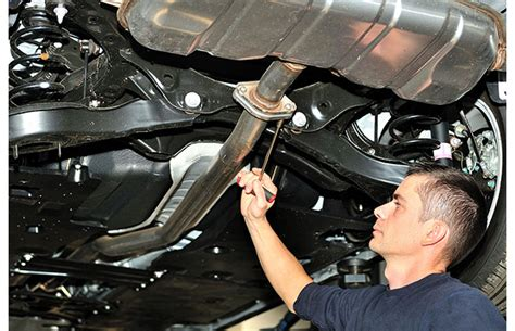 Professional Exhaust Fitting
