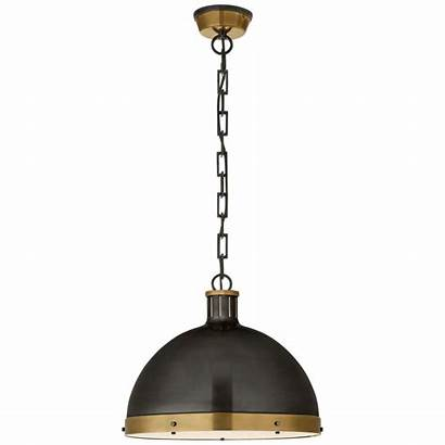 Pendant Hicks Lighting Ceiling Brass Circa Antique
