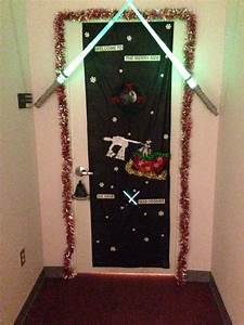Star, Wars, Door, Decorating, Cone, At, At, Office, Holiday, Party