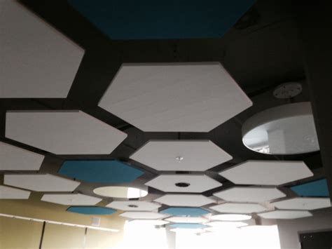 acoustical sound panels and baffles landville drywall