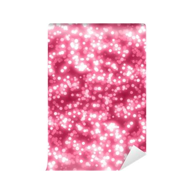 pink glitter background wall mural pixers