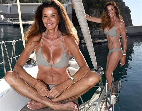 Janice Dickinson Nude Young Vs Old Scandal Planet