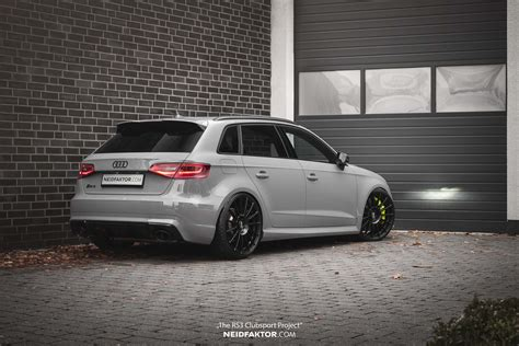 """Audi Rs3 Sportback  """"the Rs3 Clubsport Project"""" Neidfaktor"""