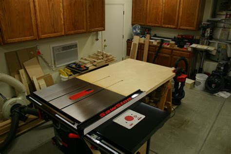 Sawstop Cabinet Saw Dimensions by Review Sawstop Industrial Cabinet Saw Ics31230 3 Hp 1