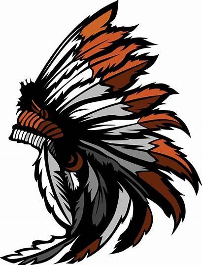 Clipart Warrior Headdress Transparent Come Softball Lhs