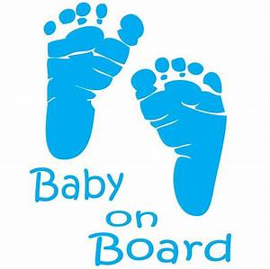 baby feet template clipartsco With baby on board template
