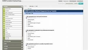 Surveymonkeys employee engagement template youtube for Survey monkey template