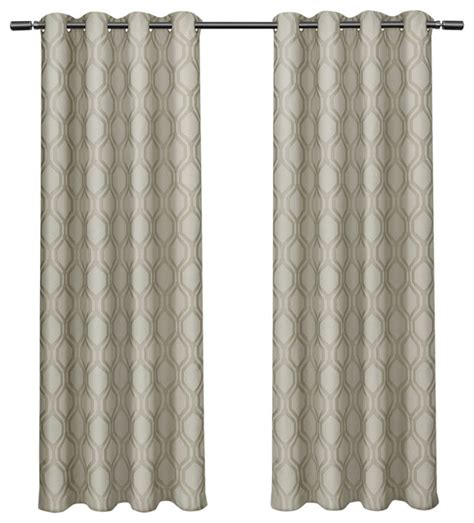blackout curtain liner domino jacquard linen w blackout liner grommet curtains