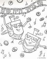 Hanukkah Coloring Dreidel Chanukah Purim Printable Sheets Jewish Crafts Symbols Hannukah Drawing Holiday Happy Colors Menorah Dreidels Annkoffsky Holidays Preschool sketch template