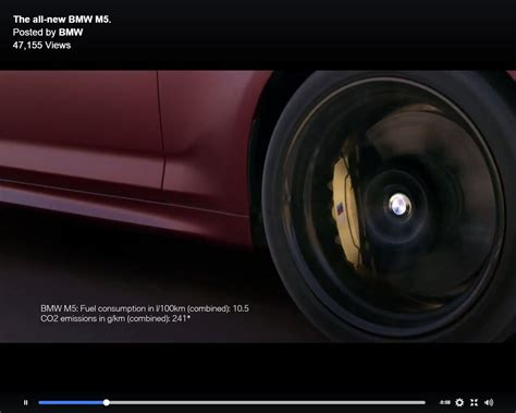 2018 Bmw M5 F90 First Edition Video Teaser Confirms