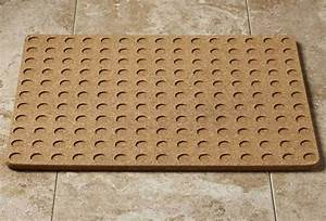 cork bath mat the green head With bathroom cork mat