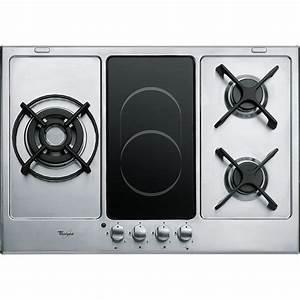 Plaque De Cuisson Blanche : plaque cuisson gaz induction achat electronique ~ Dailycaller-alerts.com Idées de Décoration