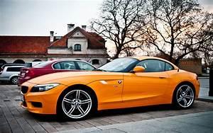 Wallpaper BMW Z4 orange car 1920x1200 HD Picture, Image