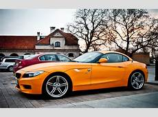 Wallpaper BMW Z4 orange car 1920x1200 HD Picture, Image