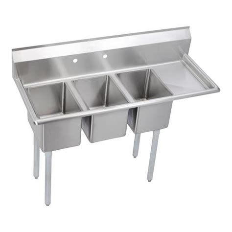 3 compartment sink price elkay deli three compartment sink