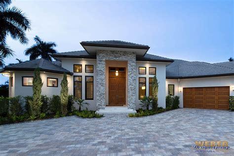 contemporary house plan  story coastal contemporary