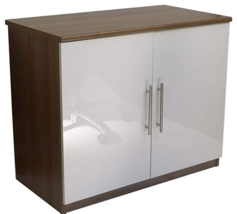 white gloss office cabinet calgary white gloss two door cupboard modern storage