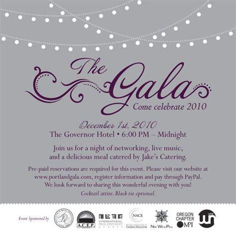 gala invite  portland gala invitation  invites
