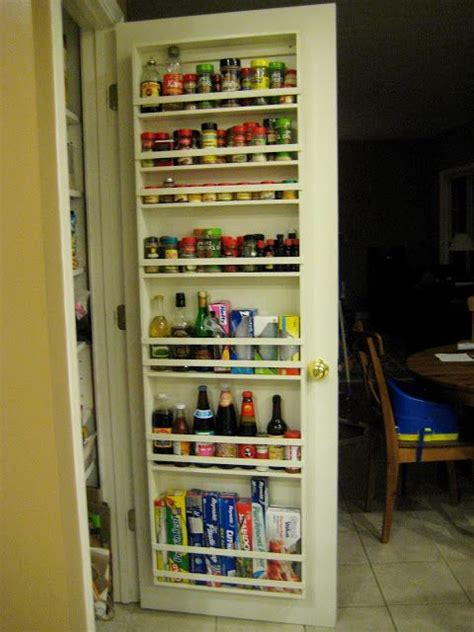 spice rack inside pantry door best 25 door spice rack ideas on door