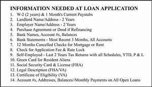 list of documents required for a mortgage pre approval a With documents needed for home mortgage