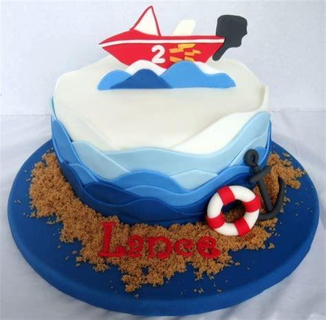 boat cakes images  pinterest boat cake